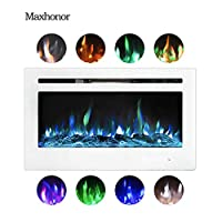 Maxhonor 36 Inches Electric Fireplace In...