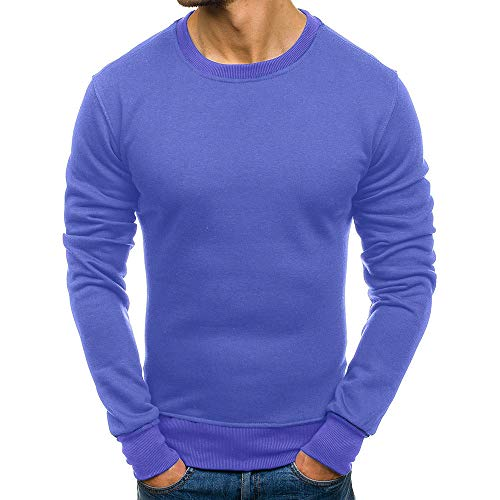 ZYEE Clearance Sale! Men's Long Sleeve Autumn Winter Casual Sweatshirt Top Blouse Tracksuits