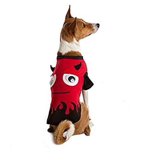 Martha Stewart Pets Pet Halloween Red Devil Pet T-Shirt~MEDIUM~