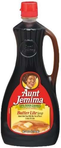 Honeys & Syrups: Aunt Jemima Butter Lite Syrup