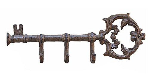 Coat Hook Skeleton Key Rack
