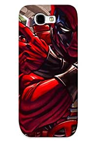 Durable Protector Case Cover With Death Troke Batman Deadpool Piderman Captain America Ic Vine Hot Design For Galaxy Note 2