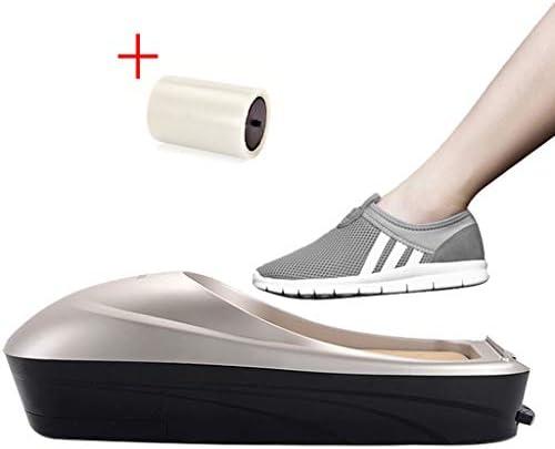 ポータブル自動靴カバーディスペンサー衛生管理のための靴カバーディスペンサーマシンオフィスで使用する家庭で地面を清潔に保つ(+靴の膜)