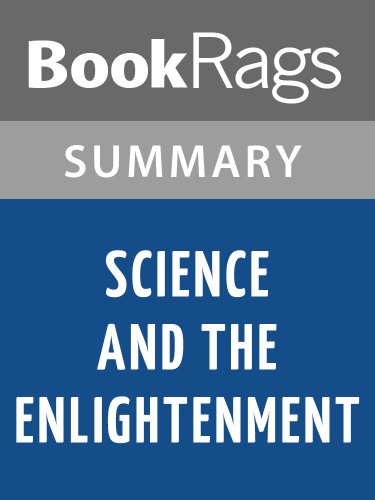 Summary & Study Guide Science and the Enlightenment by Thomas L. Hankins