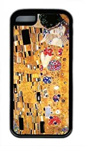 meilz aiaiThe Kiss by Gustav Klimt customized Iphone 5C TPU Black Casemeilz aiai