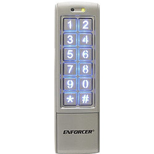 Style Access Control Keypad (Seco-Larm Enforcer Access Control Keypad, Mullion-Style (SK-2323-SDQ))