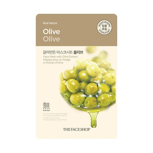 The Face Shop Real Nature Mask Olive