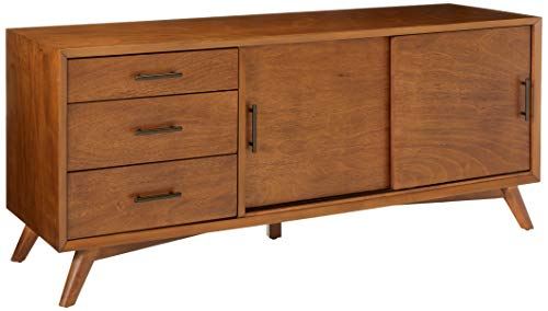 Alpine Furniture Flynn Mid Century TV Console, 64