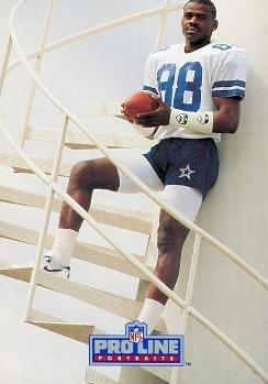 - Michael Irvin Football Card (Dallas Cowboys) 1991 Pro Line #63