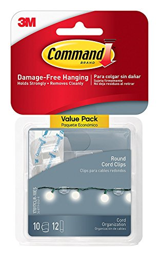 Command Indoor Light Clips TPNLY, Clear, (Best 3m Wireless Headsets)
