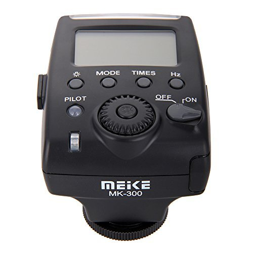 MeiKe MK-300 Mini LCD Display TTL On-camera Speedlite Flash Light with Mini USB Interface for OlympusE-P5 Panasonic GX7 Leica DSLR Camera