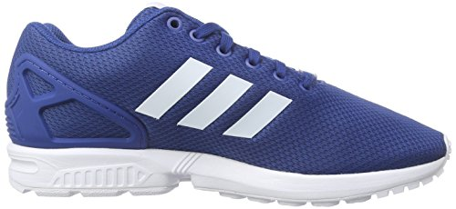 Adidas Zx Flux - Af6344 Blanc Bleu-marine