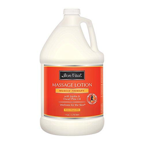 Bon Vital Muscle Therapy Massage Lotion, 1 Gallon Bottle (Lotion Vital Bon Massage)