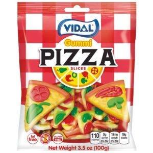 Vidal Pizza Slices Gummi Candy, 3.5 ounce Bag ()