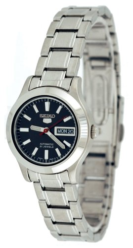 Seiko Women's SYMD95 Seiko 5 Automatic Stainless Steel Watch