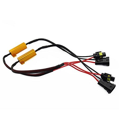 vanssi h8 h11 load resistor wiring harness adapter for canbus vanssi h8 h11 load resistor wiring harness adapter for canbus error cancellation led fog light
