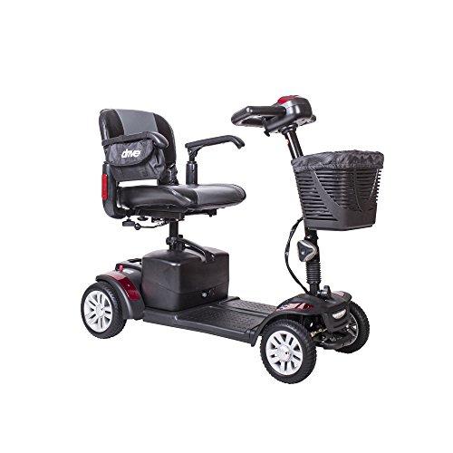 Drive Medical spitfire142016fs21 Spitfire Ex Travel 4-Wheel Mobility Scooter, 21 Ah Batteries