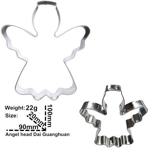 Cookie cutter |Baking Tools |Fondant Cutters Tools Hot SellingHead Wearing Halo Angel Shape Cake Cookie Biscuit Baking MoldsDirect Selling|By TINI (Halo Cutter Cookie)