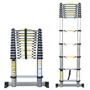4 X Types Of Telescopic Ladder Extendable Ladder 2 9m 3 6m
