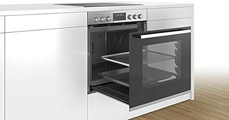 Bosch (HEB578BS1 + NXX675CB1E) - Electrodomésticos de cocina Horno de placa de inducción Aparato de cocina - Conjuntos de juegos (placa de inducción, vidrio y ...