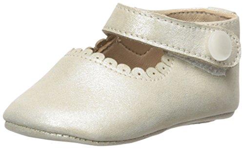 Elephantito Girls' Baby Mary Jane - K Crib Shoe, Suede Talc, 1 M US Infant for $<!--$39.50-->