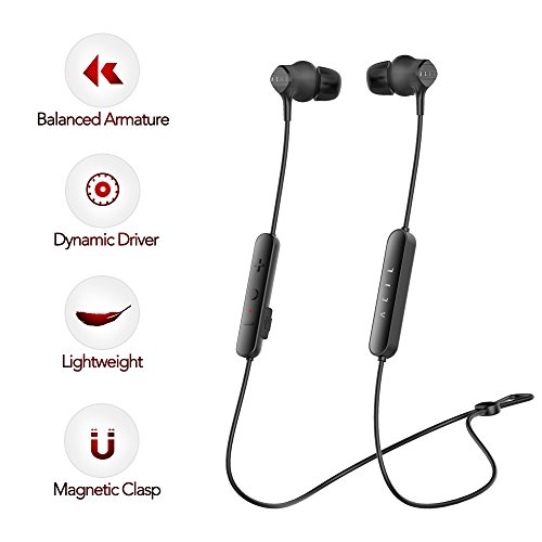 Wireless Earbuds - Stereo Bluetooth In-ear Earphones, Dynamic Driver & Knowles Balanced Armature, High-fidelity Bluetooth Earbuds, Noise-cancellation Headphones, Up to 98% at High Frequency Band