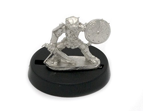 for 28mm Scale Table Top War Games Stonehaven Grippli Warrior Miniature Figure Made in USA Stonehaven Miniatures