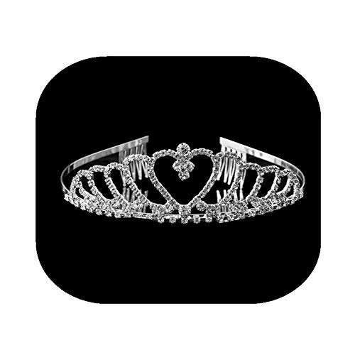 Crystal Rhinestone Crown Headband Party Princess Women's Wedding Bridal Tiara Hairband