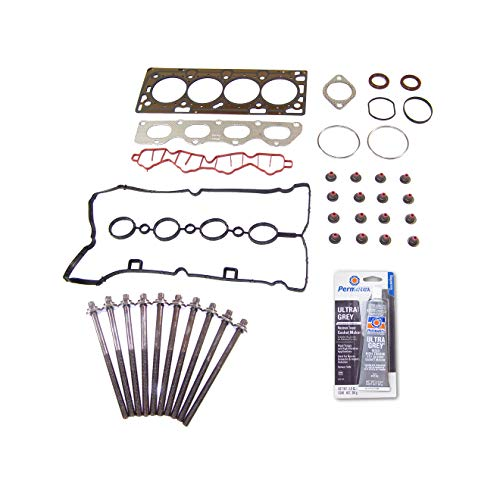 1.6 Head Gasket Kit - Head Gasket Set Bolt Kit Fits: 09-11 Chevrolet Aveo Pontiac G3 1.6L DOHC 16V LXV