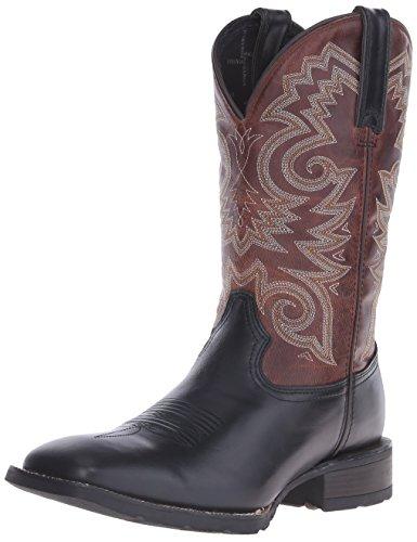 Durango Mens DDB0081 Western Boot Black Leather