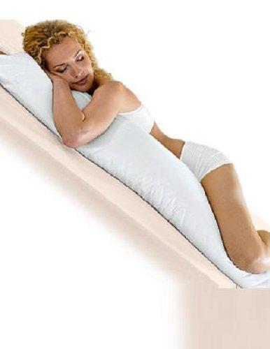 Cuscino Per Chi Dorme Di Lato.Cuscino Per Chi Ama Dormire Lateralmente Mussner 040 150 Bianco Materiale 100 Cotone