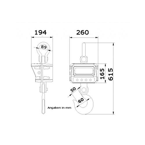 Peachy Kranwaage Hangewaage Industriewaage Lastenwaage Waage 5000Kg Amazon Wiring Database Ittabxeroyuccorg