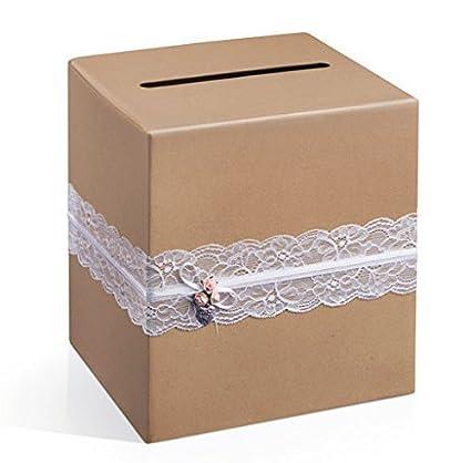 Geschenkkartenbox Scatola In Cartone Matrimonio Scatolino Cartone
