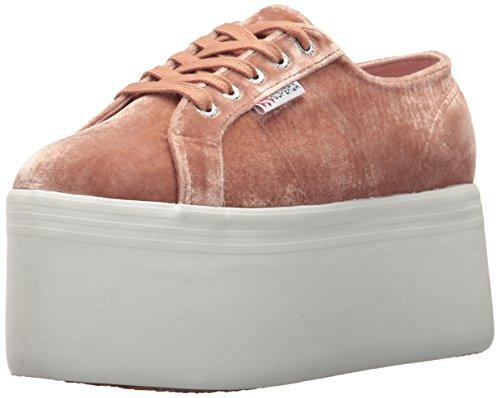 Superga Womens 2802 Velvetjpw 2802 Velvetjpw Pink Size: Blush Velvet