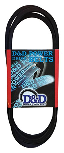 (D&D PowerDrive B132 V Belt, B/5L, Rubber, 5/8