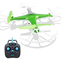 ZLOSKW RC Quadcopter - JJRC H97 2.4GHz 4CH 6-Axis Gyro LED RC Quadcopter Drone With 300 thousand HD video camera (Green)