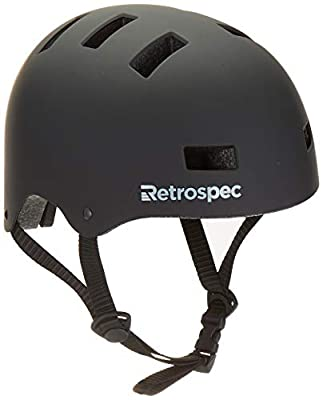 Critical Cycles Classic Commuter Bike/Skate/Multi-Sport cm-1 Helmet with 10 Vents