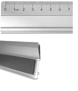 FTM - Regla de aluminio (70 cm, diseño robusto)