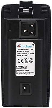 High Capacity Battery Motorola CP110 RDU2020 RDV2020 RDU4160D RDV5100 RDU2080D