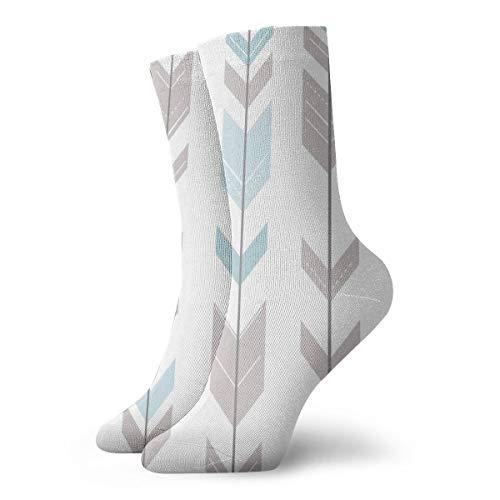SuBenSM Printable Art Arrows Ankle Socks Casual Cozy Crew Socks for Men, Women, Kids]()
