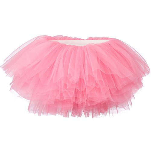 My Lello Baby Tutu Short Ballet Skirt 10-Layer (Newborn - 3mo.) Bubblegum Pink from My Lello