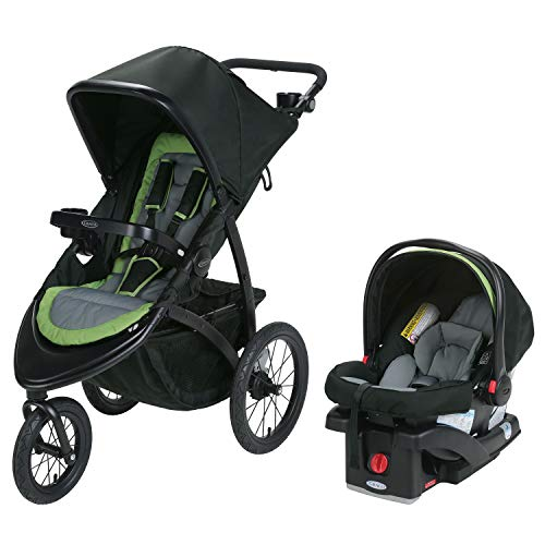 Graco Roadmaster Jogging Stroller, Travel System, Hudson (Graco Fastaction Infant Car Seat)