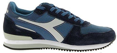 Diadora Men's Malone S Low-Top Sneakers Blue z5G8tH