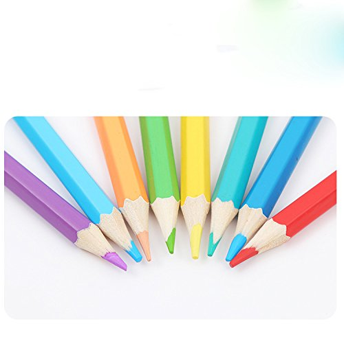 48-color Colored Pencils/ Drawing Pencils for Artist Sketch/Coloring Book(Not Included) (pink) Photo #3