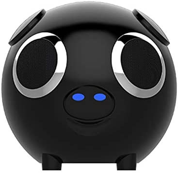 M20 Cute Pig Shape Double Speaker Bluetooth Speaker Power Bank Support Radio