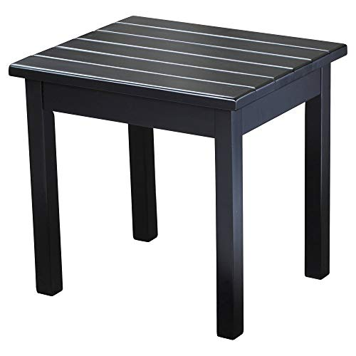 Hinkle Chair Company Painted Plantation Porch Side Table, Black ()