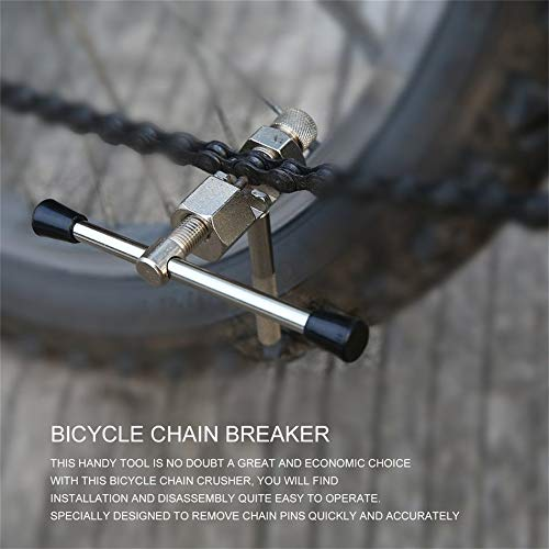 (creatYspace Bicycle Chain Rivet Repair Tool Breaker Splitter Pin Remove Replace Bike Chain Breaker Light Weight Durable Steel Construction)