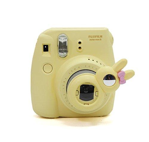 [Fujifilm Instax Mini 7s 8 8+ 9 Selfie Lens] -- CAIUL Rabbit Style Instax Close Up Lens with Self-portrait Mirror for Fujifilm Instax Mini 8 8+ 9 7s Camera and - Lenses Polaroid