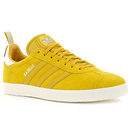 Adidas Men's Gazelle Yellow Leather Ostrich Pack Shoes S76223 dfY5FB77