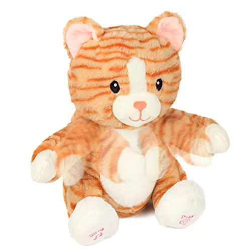 CUTEOY 박수 키티 대화 형 뮤지컬 박제 동물 노래 플러시 장난감 사랑스러운 전기 애니메이션 선물 11
